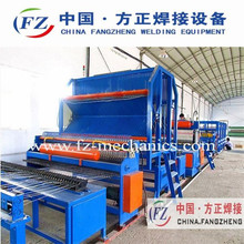 Steel used reinforced concrete fence machine