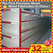 metal supermarket shelf