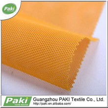 100% polyester stocked net mesh fabric