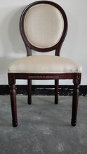Vintage French Restaurant Chair oak wood dinning chair