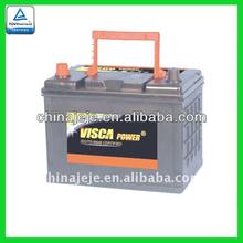 Maintenance Free Car Battery MF80D26R 12V70AH