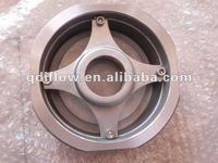 stainless steel vertical lift check valve wafer connection