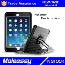 Wonderful cheapest kidsproof tablet case for apple ipad for ipad mini 4 rotation case