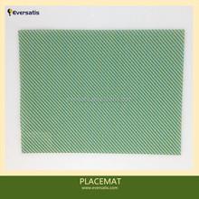 Fashion PVC Multicolor Stripe Placemat