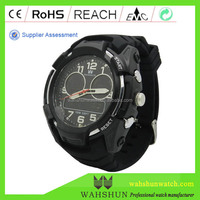 DW1423C Sport style Mens Plastic Chronograph Ana-Dig Sport Watch For Sports