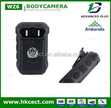 big factory ODM 2 cameras 1080P night vision 12 hours working time body wear video camera for police