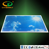 New Design Blue Sky Photo Insert LED Lighting Lamp Acrylic Diffuser 4320LM Flat LED Panel 1200x600 48W