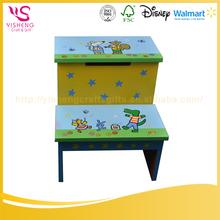 China Wholesale Custom kids wood step stool