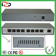 LZD Brand 10/100M network 8 port 24V POE Switch