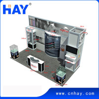 Auto show 20x20 feet exhibition stand