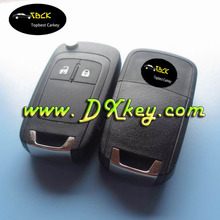 Shock price 2 buttons auto remote key 433/315 mhz with ID46 chip for opel remote key opel key