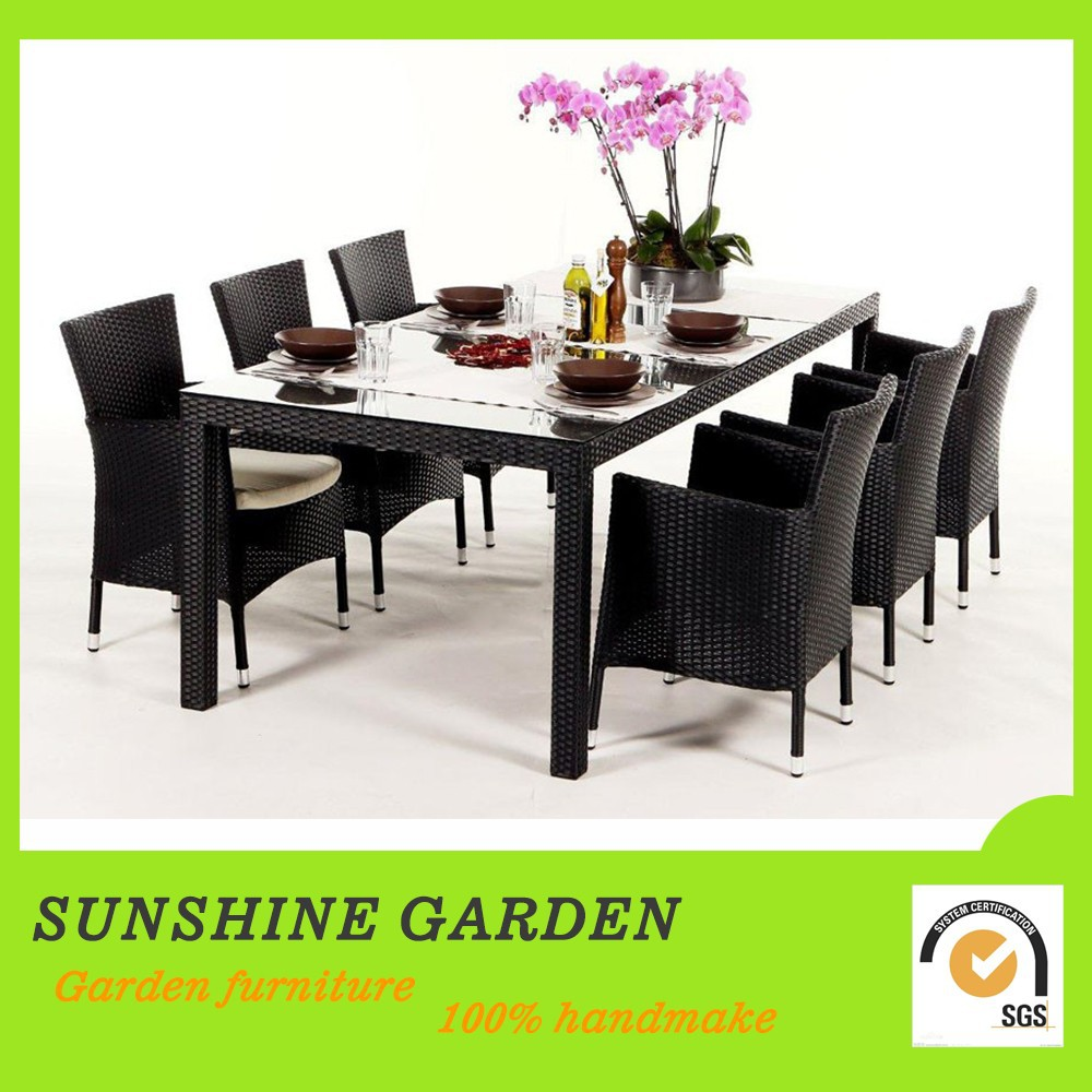 High quality pe garden rattan discount wicker furniture for Cheap high quality furniture