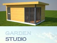 2015 New Design Hot Sell Garden Studio