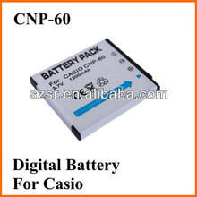 For Casio 3.7v 1100mah li-ion polymer battery NP-60