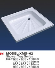 2015 Most popular deep small shower pan sizes
