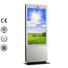 55 inch Big Size Stand Display LCD Totem