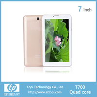 7 inch android brand tablet pc 1.3Ghz frequency android quad core tablet pc