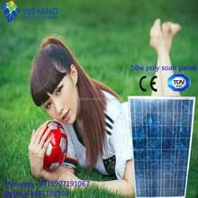 High efficiency good price flexible solar panel 20W 30W 50W with A grade quality in solar system