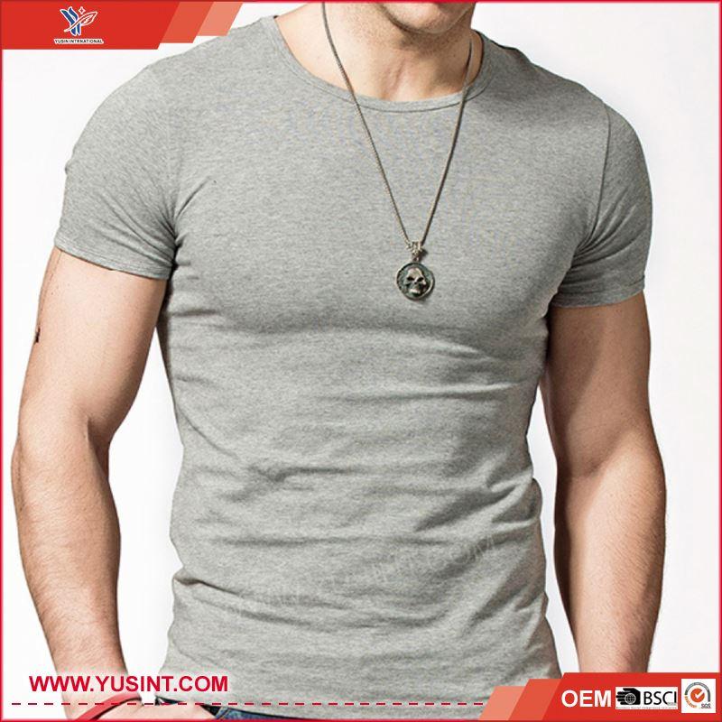 Paquete completo ropa fabricantes duró estilo 95% algodón y 5% spandex Big hand camiseta impresa