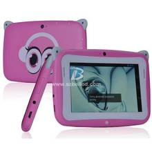 Cheap 4.3 inch Kids Mini Tablet PC RK2928 Android 4.4 512MB RAM 4GB ROM Dual Camera WIFI MID, easy learning