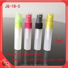 7ml spray vials 5ml glass vials with sprayer pump perfume tester bottle 10ml