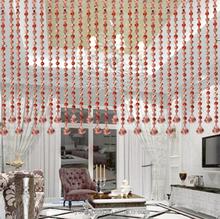 2015 Fashion decorative window crystal beads curtain, denim curtain,luxury curtain