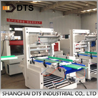 Automatic Bottles/Cans Vertical Type Low Speed Shrink Wrap Machine