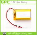 Bateria de iões de lítio polímero baixa temperatura 3.7 v1650mah405070