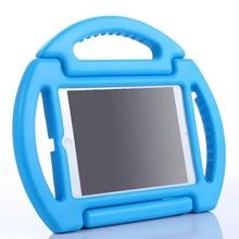 Steering Wheel Kids ShockProof Handle Case for iPad Mini 3 EVA Foam Stand Case