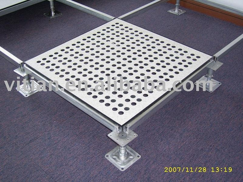 Perforated raised floor panel buy perforated raised for Floor y raise