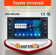 Hifimax S160 series Android 4.4.4 android car pc for toyota camry/toyota corolla android car dvd/toyota rav4 with android