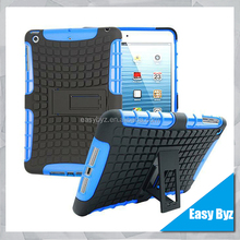 For ipad mini 1 2 3 case, Tpu Plastic Hybrid case for ipad mini 1 2 3, Shockproof 2 in 1 back cover case