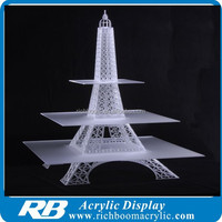 acrylic eiffel tower cupcake stand