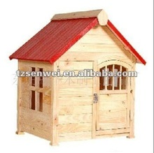 wooden pet house, log cabin cage, wooden house for pet