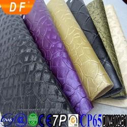 pu Crystal film Leopard grain &The PU leather