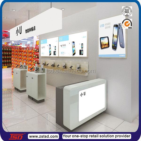 tsd-w399 personnalisé mobile téléphone boutique décoration design ... - Meuble Pour Telephone Design