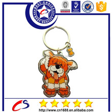 Cat Dog Elephant Monkey Dolphin Animal Keychain