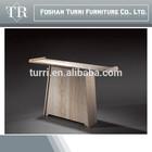 itália moderna travertino console de mesa