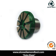 Super Sharp Floor Concrete Abrasive Tools/Segment Grinding disc with plug