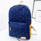 Moda feminina Casual lona leve menina bonito criança ombro mochila mochila escolar viagem saco de livro Laptop