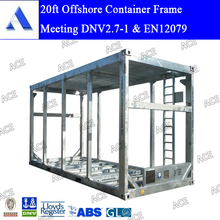 Over high / large dnv 20ft offshore frame for pump and generator