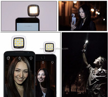 RK05 Selfie Using Sync LED Flash built-in 16 leds for all smart phone and camera,pocket spotlight