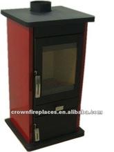 Ferro fundido lareira antiga fogão a lenha melhor design( dl005r)