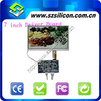 7 inch LCD Screen 480*234 dots with Controlle Board