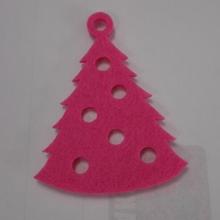Venta al por mayor decoración de piezas de adorno del traje de mini árbol de navidad