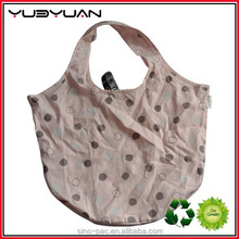 2015 Newest Products Manufacturer Wholesale Cheap Eco-friendly Easy To Carry Custom Reusable Nylon Folding Shopping Bag