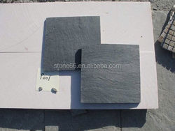 natural slate stone chip coated metal roof tiles