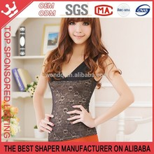 Basic Underwear Women Tank Top Wholesale Lace Flower Tank Top In Bulk