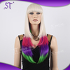 Wholesale Fashion Artificial Halloween Long Costume Wig Straight Synthetic