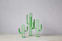 New coming Green color metal tree table decoration interior decoration